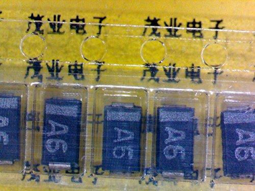 huaban 10PCS FM4006 SMA DO-214AC Marking A6 Rectifier Diode Single Tube