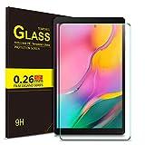ELTD Protection écran pour Samsung Galaxy Tab A T515/T510 10.1 2019, 9H, 2.5D Verre Trempé Film Protection d'écran...