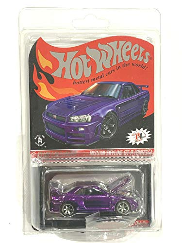 DieCast Hotwheels 2020 RLC Exclusive Skyline GT-R (BNR34) Purple