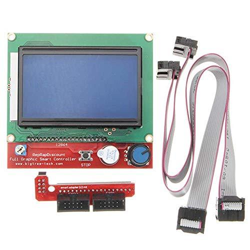 KEKEYANG 3D Printer Parts 3D Printer Controller Intelligent Digital LCD 12864 Display for RAMPS 1.4 Reprap Controller Board