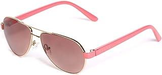 Kid's Girl's Glitter Aviator Sunglasses