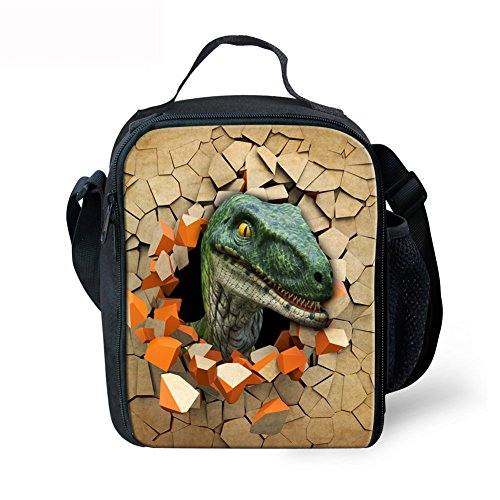 Advocator , Zainetto per bambini , Dinosaur3 (Viola) - Advocator packable backpack