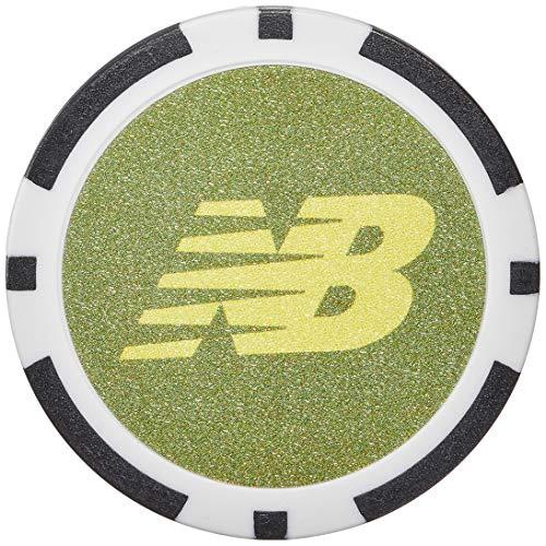 [ニューバランス ゴルフ] ボールマーカー (マーカー:40mm リバーシブル仕様) / 012-0184012 / ゴルフ クリップ 181_カーキ