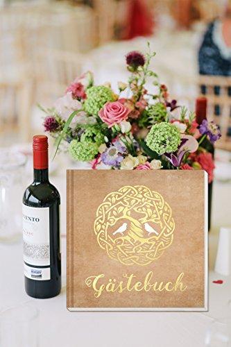 Hardcover Gästebuch mit weißen Seiten - 8