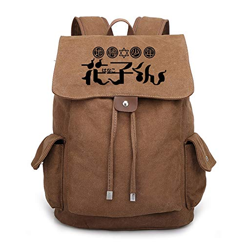 SHU-B Toilet-Bound Hanako-kun Laptop Backpack,Extra Large Anti-Theft Business Travel Laptop Backpack Bag with USB Charging Port