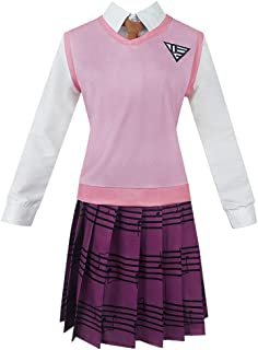 Gegexli Anime Danganronpa Cosplay Costumes Kaede Akamatsu Uniforms Halloween Party