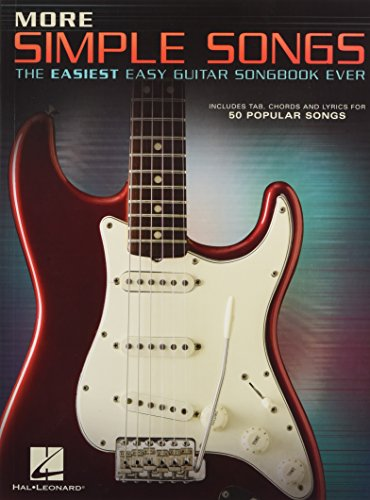 More Simple Songs: The Easiest Easy Guitar Songbook Ever: Songbook, Tabulatur für Gitarre