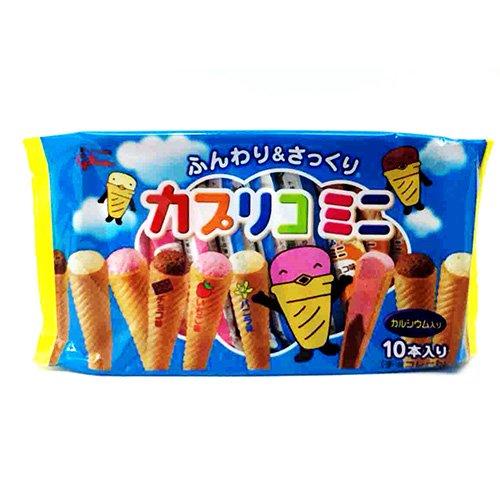江崎グリコ カプリコミニ大袋 チョコレート おやつ 10本入 ×6個