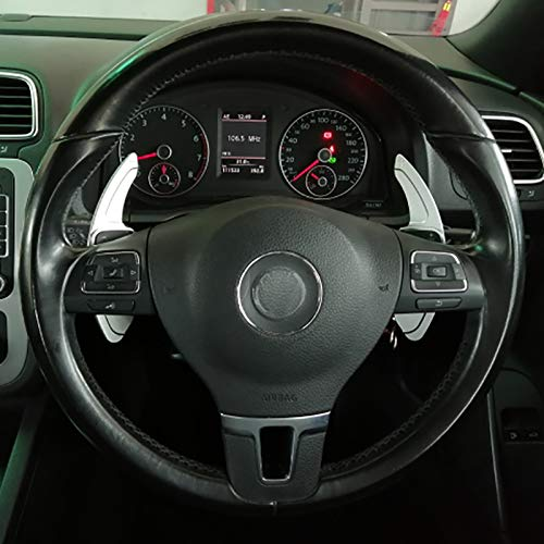 YXSMFX Stuur Paddle Extension Shift Cover, Voor VW Golf 5 6 MK6 GTI R Jetta MK5 Passat B6 B7 CC Polo