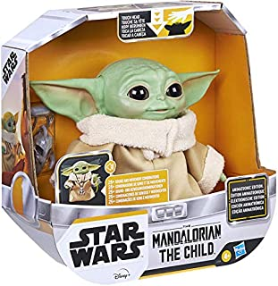 Collect Star Wars/Mandalorian - The Child - Animatronic Edition - Over 25 Sound and Motion Combinations! Feel The Force!