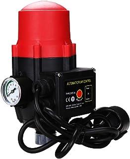 wolketon - Interruptor de presión para Bombas de Agua (con Cable, 10 Bares)