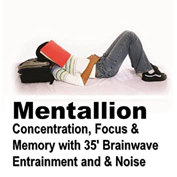 Concentration, Focus and Memory with 35' brainwave Entrainment and White Noise