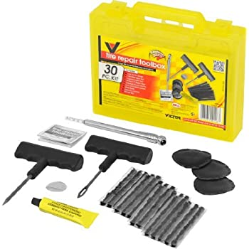 Victor 22-5-00126-8A Tire Repair Toolbox- 30 pc kit