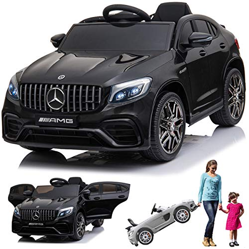 SIMRON Mercedes-Benz GLC 63s AMG Cabriolet Ride-On 12V Elektro Kinderauto Kinderfahrzeug Kinder Elektroauto