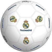 Real Madrid Balon 23 cm de plástico Duro (Smoby 50929)