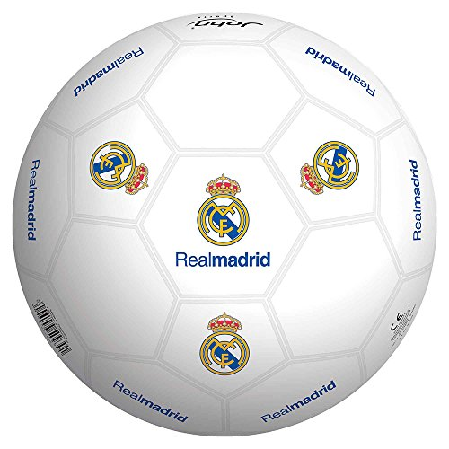 Real Madrid Ballon 23 cm en Plastique Dur (Smoby 50929)
