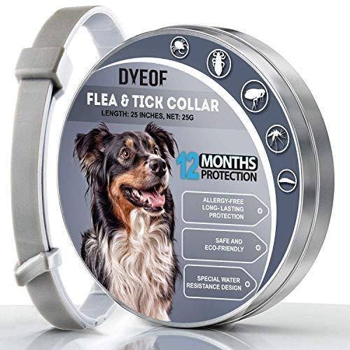 DYEOF Flea Tick Collar for Dogs