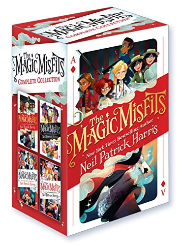 Compare Textbook Prices for The Magic Misfits Complete Collection  ISBN 9780759556256 by Harris, Neil Patrick,Marlin, Lissy,Hilton, Kyle