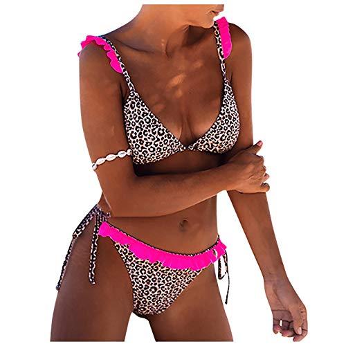 Dos Piezas Bikini Set Bañadores para Mujer Estampado de...