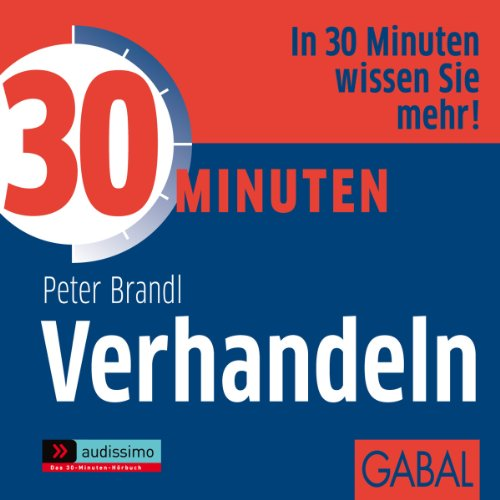 30 Minuten Verhandeln audiobook cover art