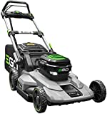 EGO 21 in. 56-Volt Lithium-Ion Cordless Battery Push Mower with 5.0 Ah battery and...