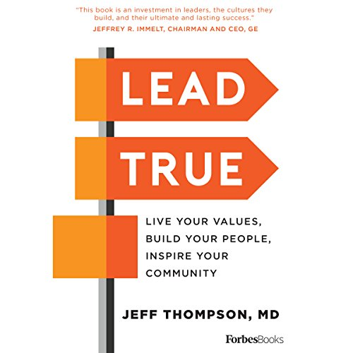 Lead True audiobook cover art