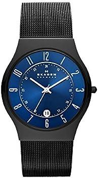 Skagen Men's Sundby Titanium & Stainless Steel Mesh Casual Quartz Watch