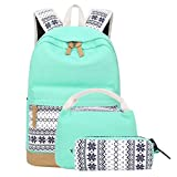 School Backpacks for Teen Girls Lightweight Canvas Backpack...