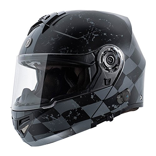 TORC T27 Full Face Modular Bluetooth Motorcycle Helmet