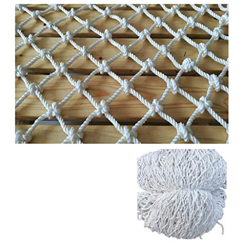 STTHOME Child Safety Net Protection Climbing Frames Football Field Fence Net Protection Net Poultry Purse Photo Wall DIY Ceiling Network Volleyball Nets For Kids 5cm Mesh Multi-size (Size : 3 * 4M)