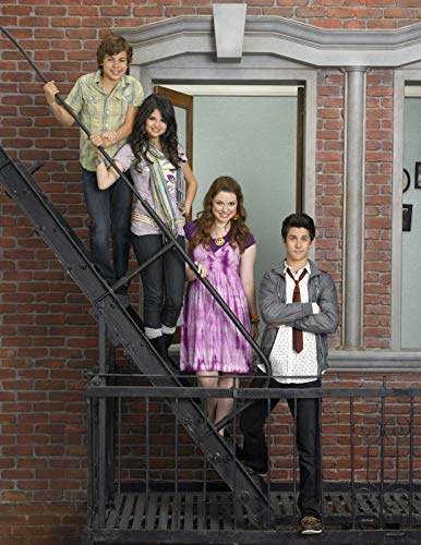 Wizards of Waverly Place 35cm x 45cm 14inch x 18inch Silk Print Poster 023- Fabric Cloth Wall Decor Home Decor