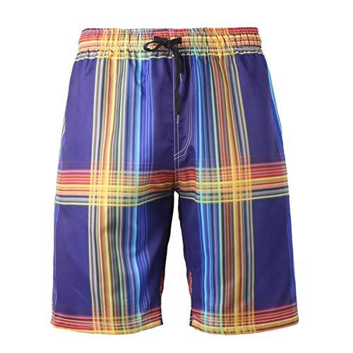Pantalones Cortos Deportivos de Talla Grande con Estampado de Moda para Hombre, Pantalones Cortos de Verano de Secado rápido básicos para Ocio 5XL