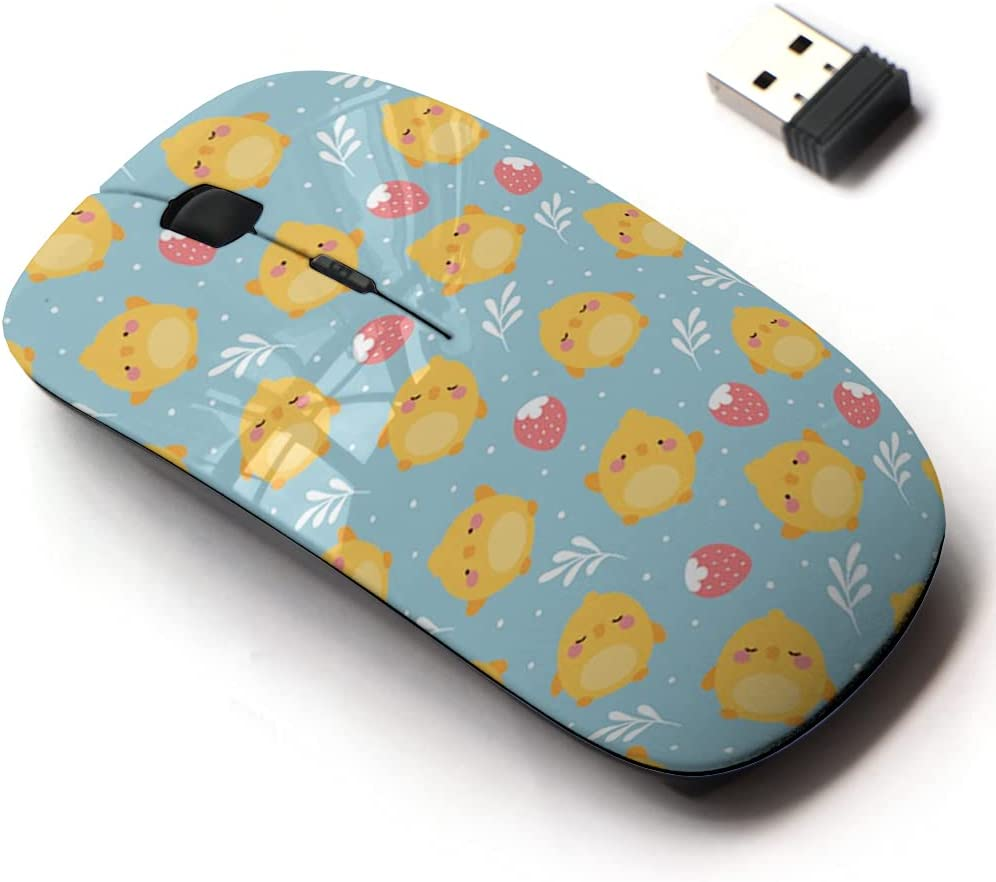 2021 spring and summer new 2.4G Oakland Mall Wireless Mouse with Cute Pattern All Design Laptops for