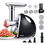 CAMOCA Meat Grinders for Home Use, Electric Food Grinder & Sausage Maker with Handle, [1600W Max],...