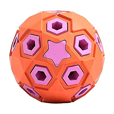 Beewarm Indestructible Dog Toys 35 lbs Ball Toys for Medium Dogs - Lifetime Replacement Guarantee-Squeeky Toys for Dogs