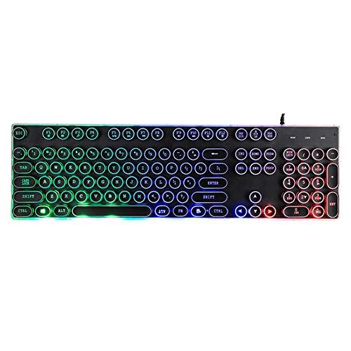 NOY Kabellose Tastatur, kabellose Tastatur und Maus, kabellose Gaming-Tastatur, kabellose Tastatur-Maus-Kombination, schlankes Design, leichte und ultradünne kabellose Tastatur-Keyboard