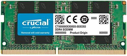 Crucial RAM CT16G4SFRA266 16Go DDR4 2666 MHz CL19 Mémoire d'ordinateur Portable