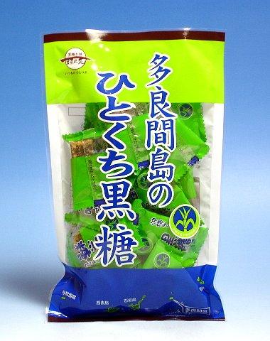 黒糖本舗垣乃花『多良間島のひとくち黒糖』