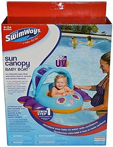 Swimways Sun Canopy Baby Boat (Blau) by SwimWays