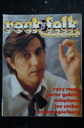 ROCK & FOLK 190 ROXY MUSIC PETER GABRIEL TELEPHONE JOE COCKER STEVEN SPIELBERG TOM PETTY
