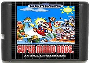 Taka Co Super Mario Bros. 16 bit SEGA MD Game Card For Sega Mega Drive For Genesis, Try It Now