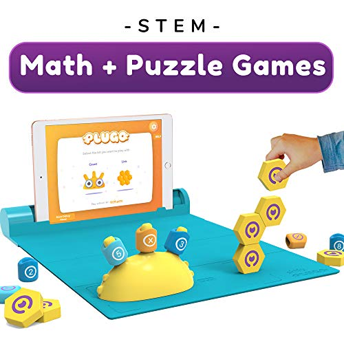 Shifu Plugo STEM Pack - Count & Link Combo Kit - Educational STEM Toy for Boys & Girls 5 Years & up (iPad / iPhone Required)