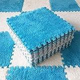 10 piezas para niños de peluche Baby Play alfombra de espuma EVA para desarrollar, alfombra de puzle para niños, suave, alfombra de juego para juegos de Crawling Playmat,2