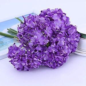GIAO Artificial Flower Home Decor Artificial Flower, Sweet Snowball Bundle, Artificial Plant, Artificial Flower, Decorative Flower (3Pcs)