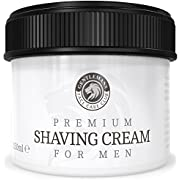 Shaving Cream - Luxury Sandalwood Shave Cream From Gentlemans Face Care Club - Large 90 Day Supply 150ml Pot + 100% Money Back Guarantee