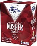 Diamond Crystal Kosher Salt – Full Flavor, No Additives and Less...