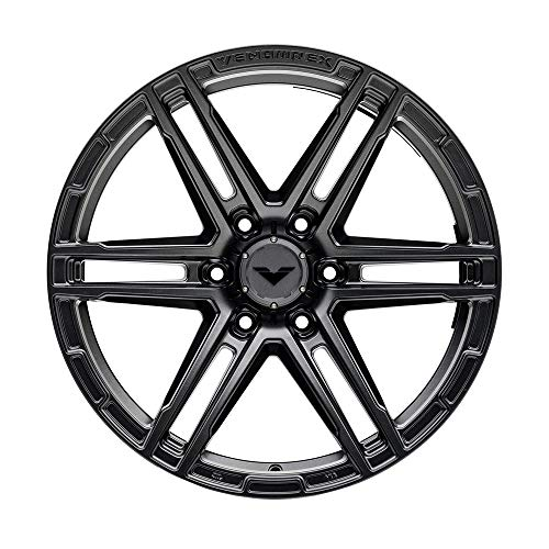 VENOMREX VR-602 17 Inch Flow Forged Wheel Compatible with 09-20 Ford F-150 and Raptor 6x135 Bolt Pattern, 17x9 (+12mm Offset), 87.1mm Bore, Tungsten Graphite - 1 PC