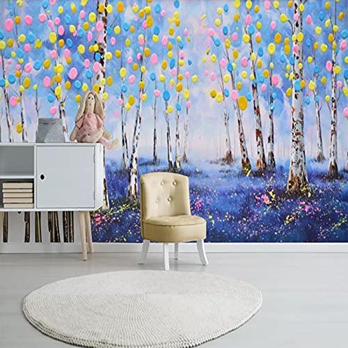 Mural Papel Tapiz 3D, Ver Diseño De Ilusión óptica Mural De Pared, Papel Tapiz Fotográfico Sala De Estar Dormitorio Oficina Decoración Murales Decoración De Pared Moderna (An × Al (250x104CM,E)