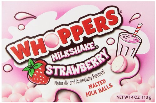 WHOPPERS Strawberry Malted Milk Balls Candy