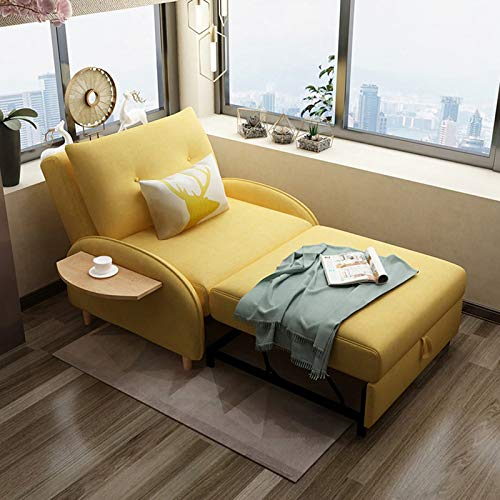 FYHpet Folding sofa bed sheet people living room dual-purpose small family multi-functional bedroom study folding Portable Pillow Lounge Couch Living Room Furniture